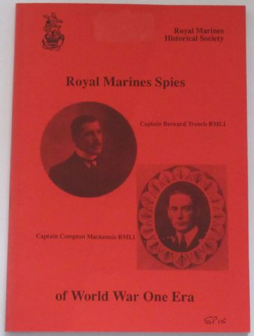 Royal Marine Spies of World War One Era
